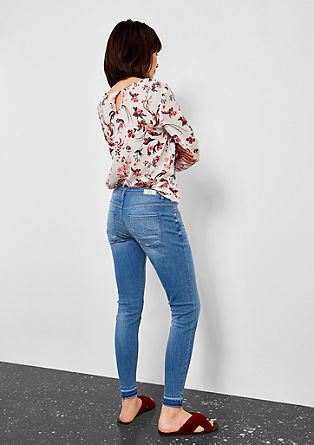 Sadie superskinny: five-pocket jeans