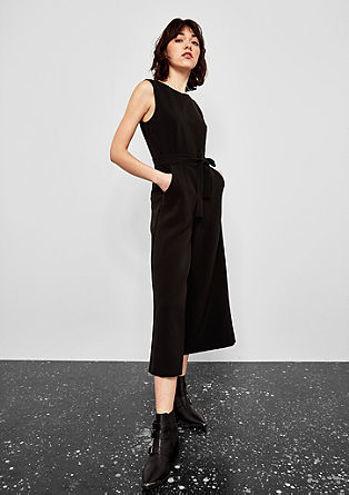 Culotte-style jumpsuit from s.Oliver