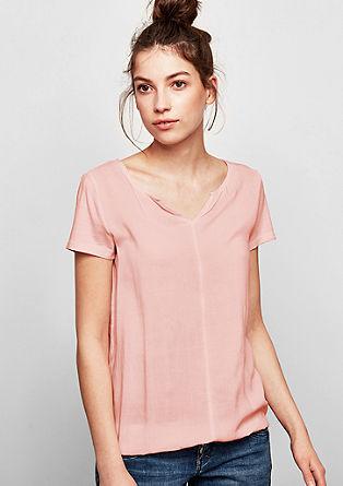 O-Shape-Shirt in Pigment Dye