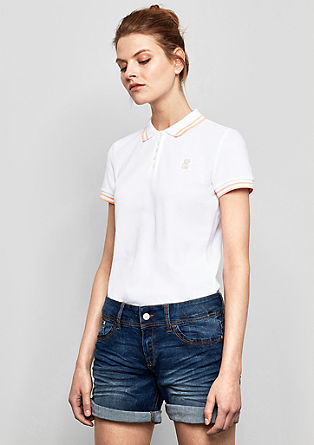 Summery polo shirt from s.Oliver