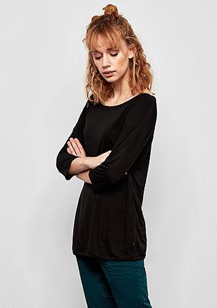 Jersey shirt met raglanmouwen