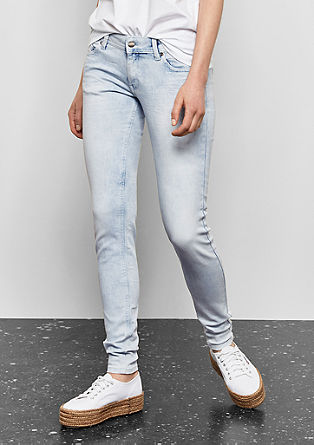 Sadie Superskinny: Bleached jeans from s.Oliver