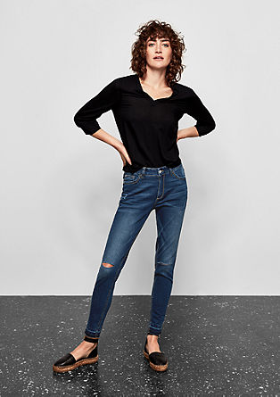 Sadie Superskinny:High-waisted jeans from s.Oliver