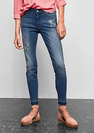 Sadie Superskinny: Ankle-Jeans