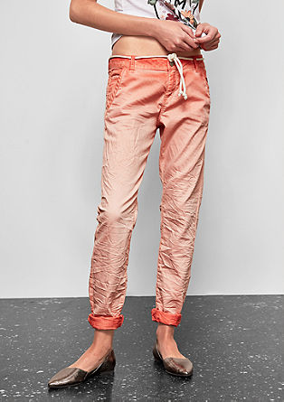 Megan Girlfriend: coloured jeans from s.Oliver