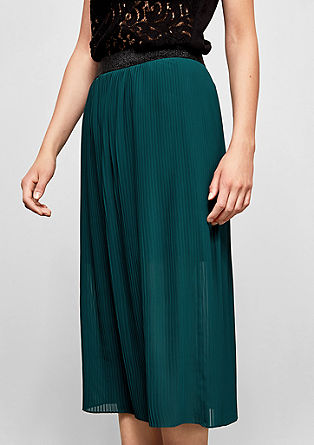 Pleated midi skirt from s.Oliver