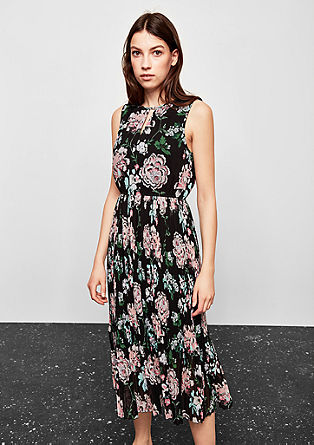 Patterned chiffon dress from s.Oliver
