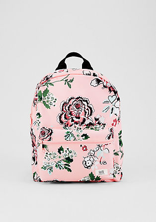 Rucksack with a floral print from s.Oliver