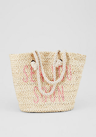 Beach bag in a braided look from s.Oliver