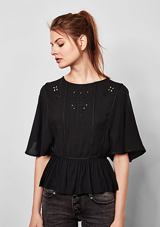 Embroidered boho tunic from s.Oliver