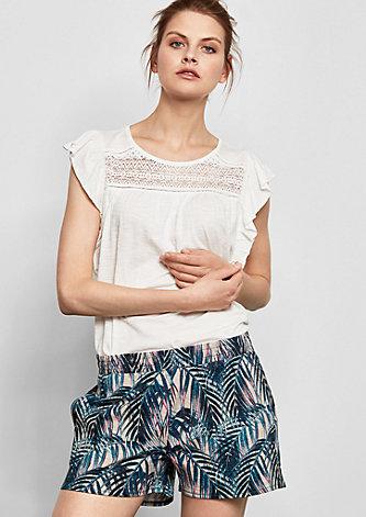Shorts mit Allover-Print