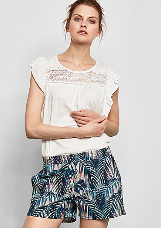 Short met print all-over