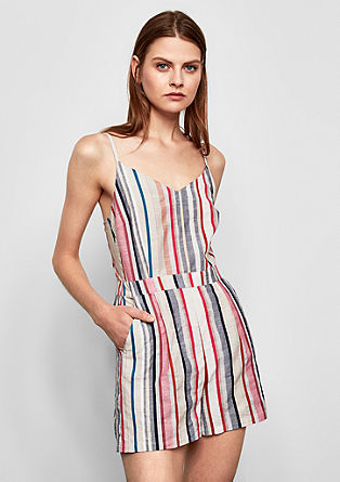 Playsuit with stripes from s.Oliver