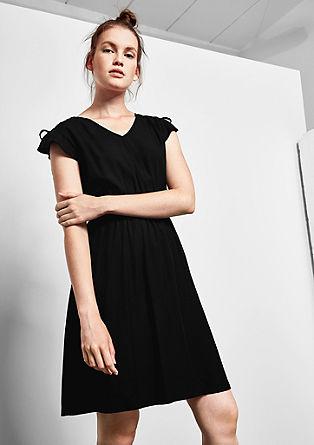Blusenkleid mit Schnür-Details