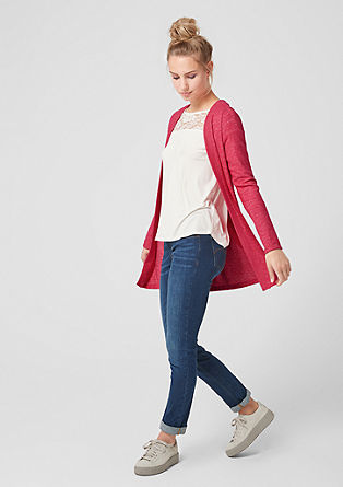 Softer Long-Cardigan