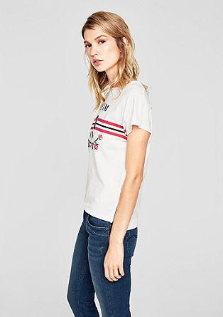 Jerseyshirt mit Retro-Print