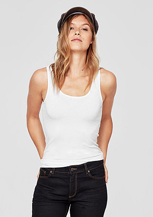 Basic tank top from s.Oliver