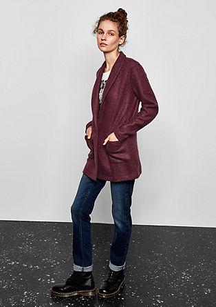Melange sweatshirt blazer from s.Oliver