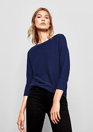Lightweight rib knit jumper from s.Oliver