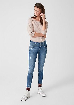 Catie Slim: Ankle-Jeans