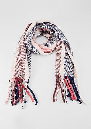 Wollige geweven sjaal