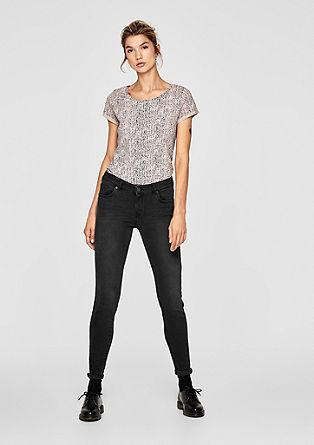 Sadie superskinny: dark denim jeans