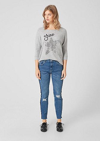Megan Girlfriend: Ankle-Jeans