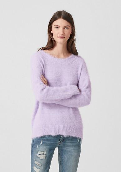 Flauschiger Oversized-Pullover