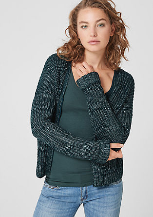 Cardigan with a zip from s.Oliver