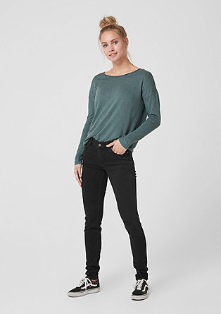 Sadie Superskinny: embroidered jeans from s.Oliver