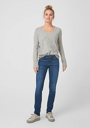 Catie slim: blue jeans