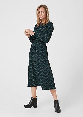 Kleid mit Retro-Print