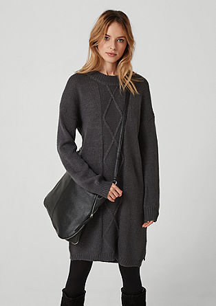 Warm knit dress from s.Oliver