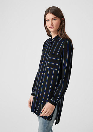 Long striped blouse from s.Oliver