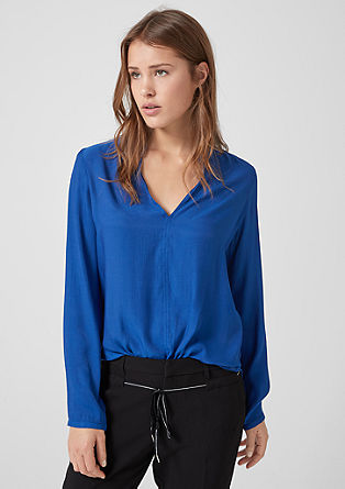 Shimmering tunic blouse from s.Oliver