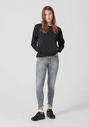 Sadie Superskinny: 7/8 ankle jeans from s.Oliver