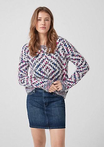Stretchiger Jeans-Minirock