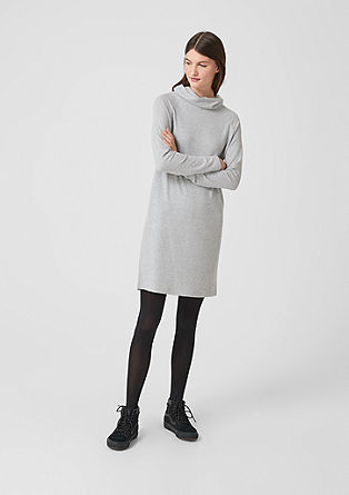 Knit turtleneck dress from s.Oliver