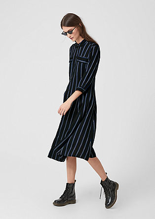Striped blouse dress from s.Oliver