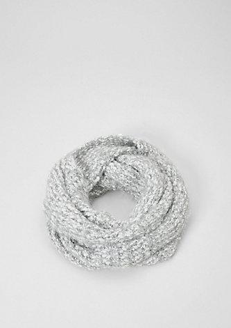 Warmer Loop aus Fancy-Garn
