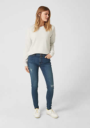 Reena Slim: high-waisted jeans from s.Oliver