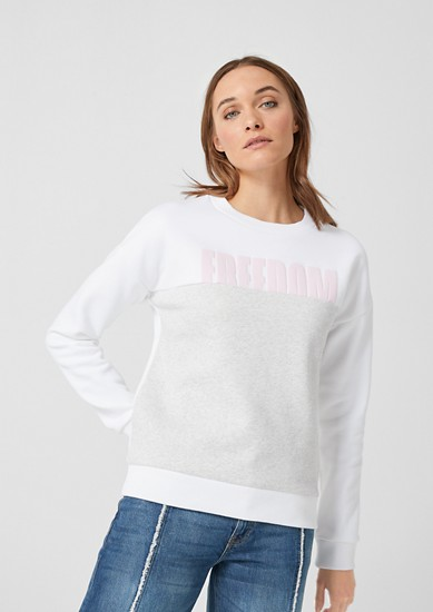 Sweatshirt mit Statement-Wording