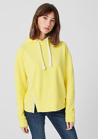 Hoodie mit Label-Embroidery