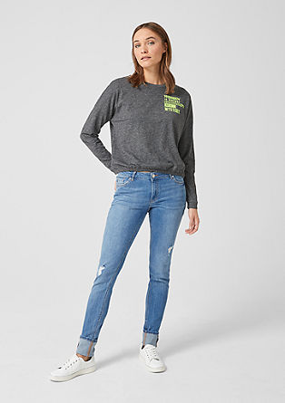 Sadie Superskinny: jeans with turn-ups from s.Oliver