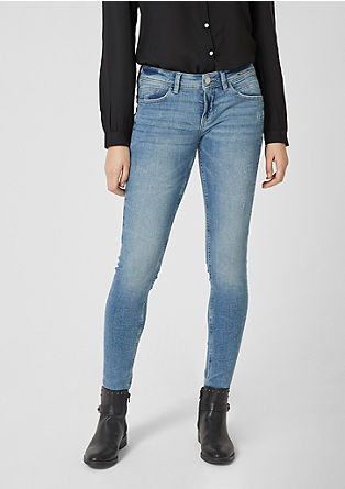 Sadie superskinny: Low Rise-Jeans