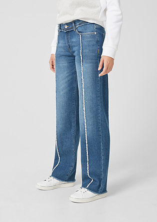 Catie Straight: jeans with turn-ups from s.Oliver