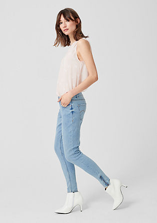 Sadie Superskinny: Ankle Jeans