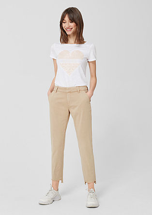 Gwen Ankle: casual chinos from s.Oliver
