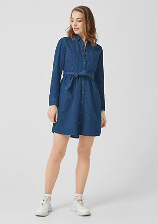 Denim dress with a belt from s.Oliver
