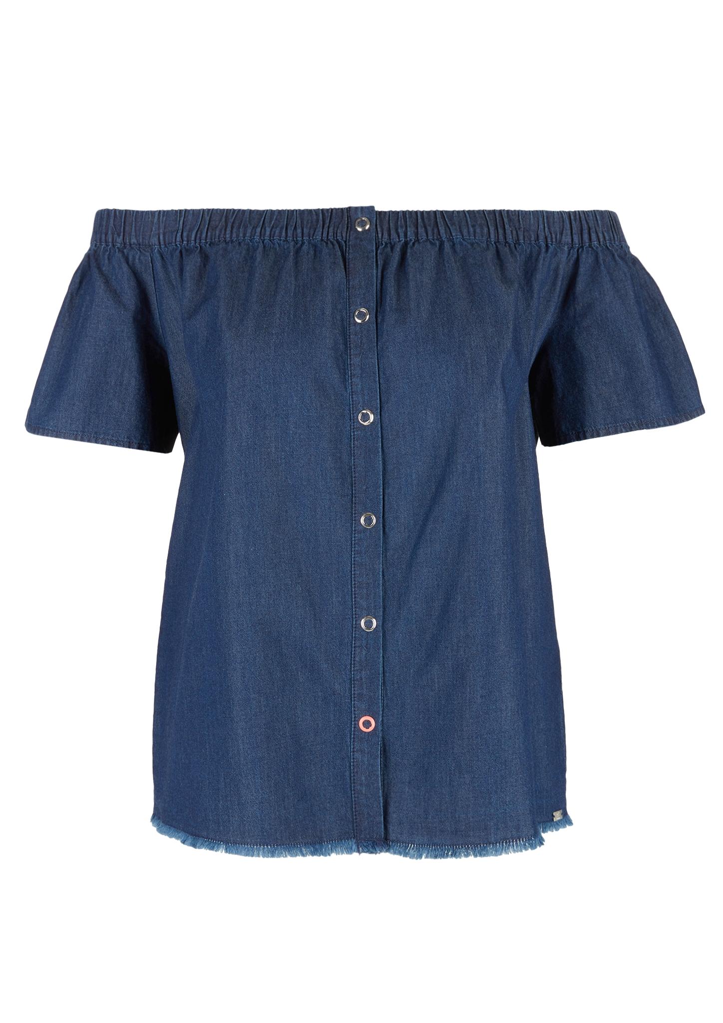 Carmenshirt | Bekleidung > Shirts > Carmenshirts & Wasserfallshirts | Q/S designed by